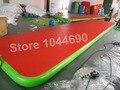 Envío gratis 10 * 2 m inflable pista de carreras para gimnasia