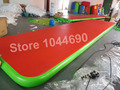 Free shipping 10*2m inflatable race track for gymnastics