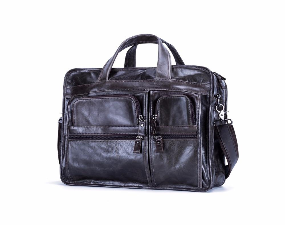 HTB1lN5EkPnD8KJjSspbq6zbEXXaw JOYIR Genuine Leather Men Briefcases Laptop Casual Business Tote Bags Shoulder Crossbody Bag Men's Handbags Large Travel Bag