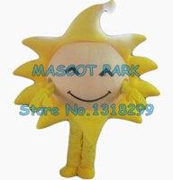 the yellow sunny sun mascot costume adult size cartoon golden sun theme school performing costumes carnival fancy dress kits