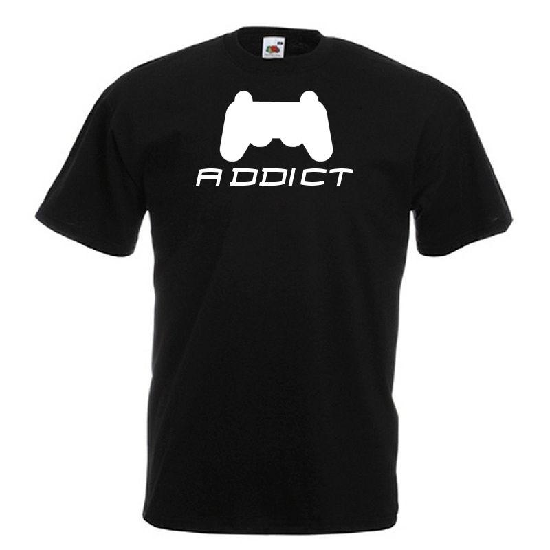 Video Game addict FPS RPG Standard Black T-Shirt for hardcore gamers
