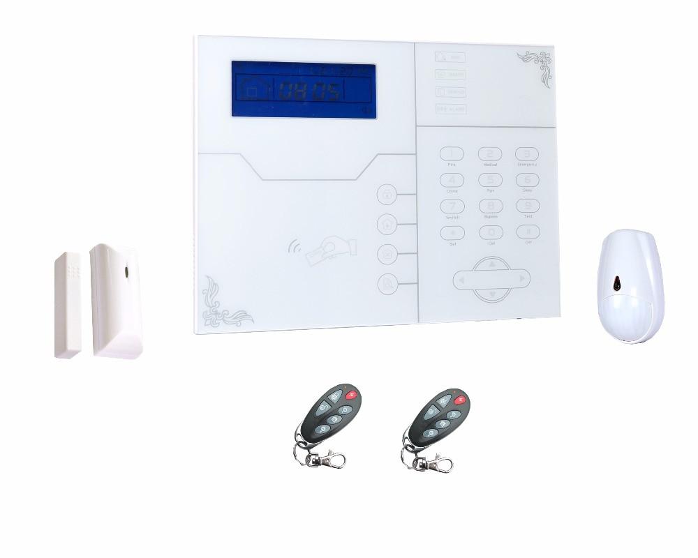868MHZ French Language MeiAn ST-VGT TCP IP GSM GPRS Alarm System Support APP Control Intruder Home Alarm CID Alarm 433mhz Alarm