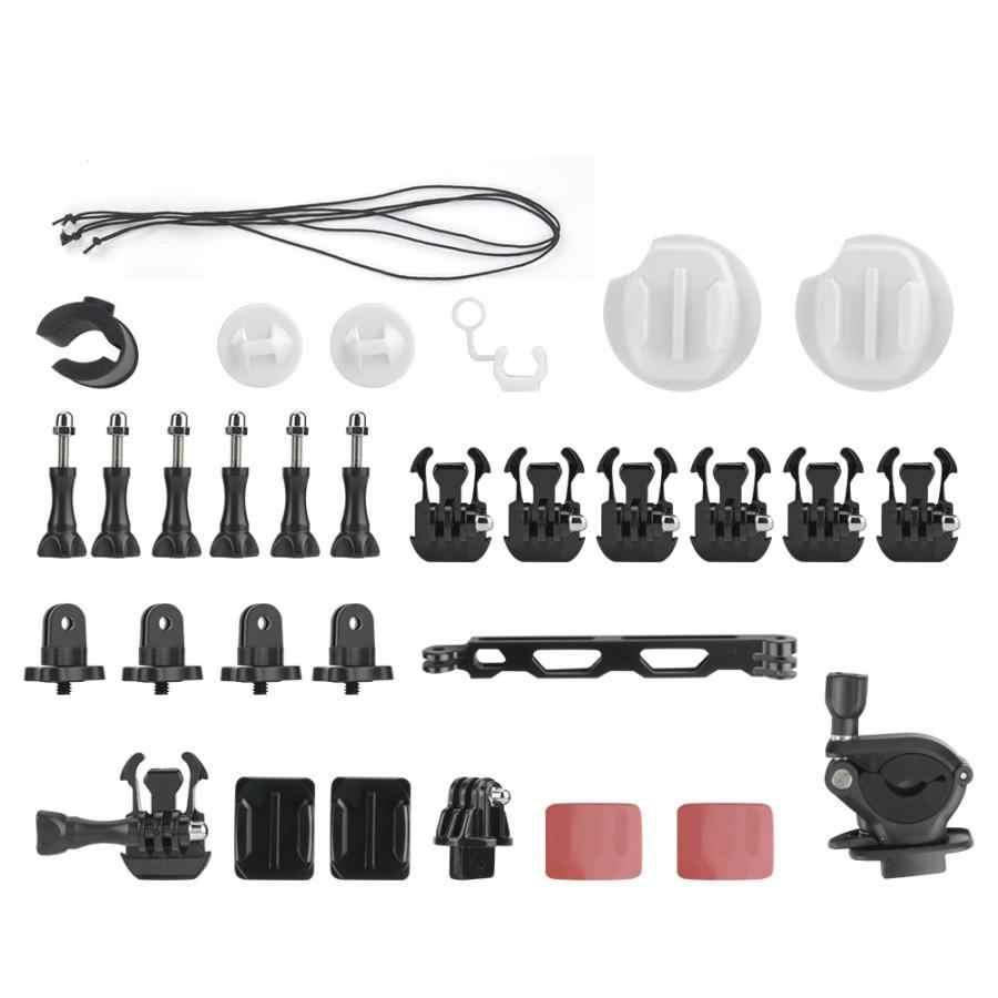 Экшн-камера для съемки под открытым небом рафтинг аксессуары для сёрфинга комплект для Insta360 ONE & ONE X Спортивная камера вынос для шлема стержень для серфинга кронштейн