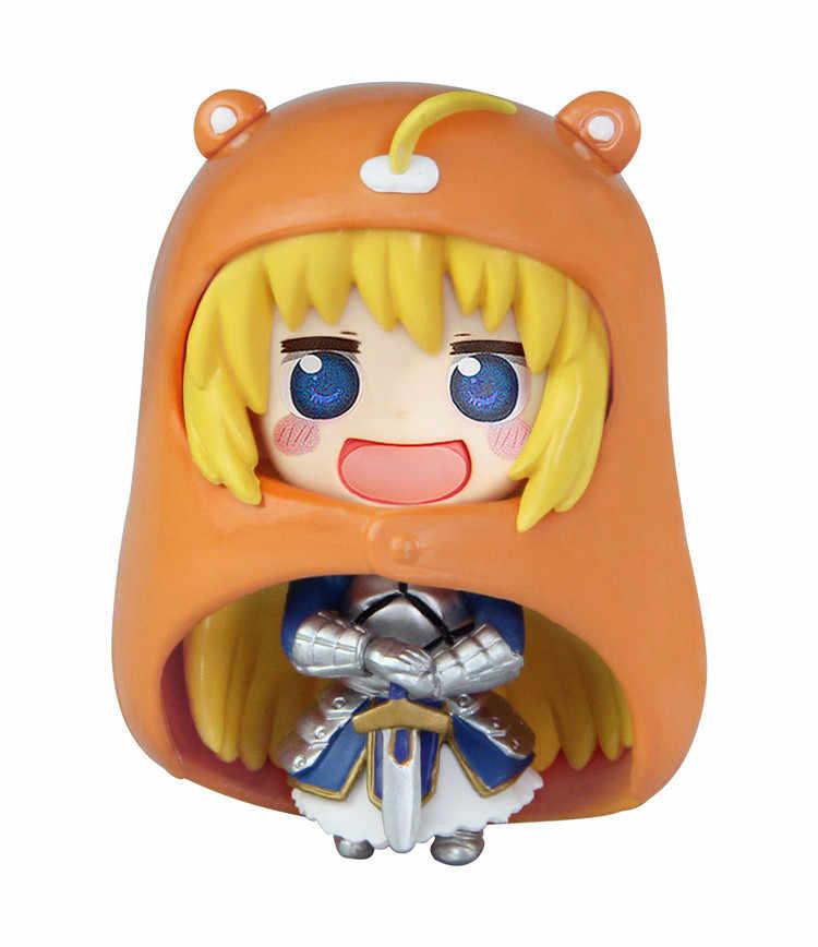 Anime Himouto Umaru Chan Umaru Doma PVC Action Figure Collectible Model doll toy 10cm (2pcs/set)