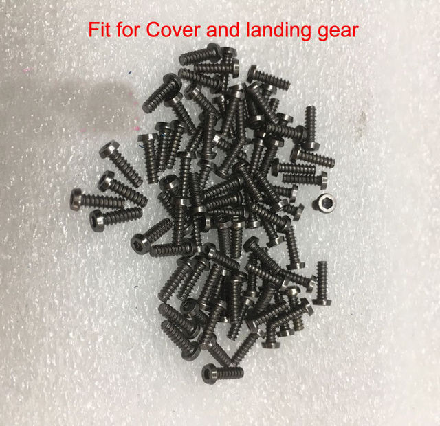 Genuine DJI Mavic Pro/Platinum Part – Screw set Contains all the Screws needed for One Mavic Pro Drone Replacement  (115 screws)
