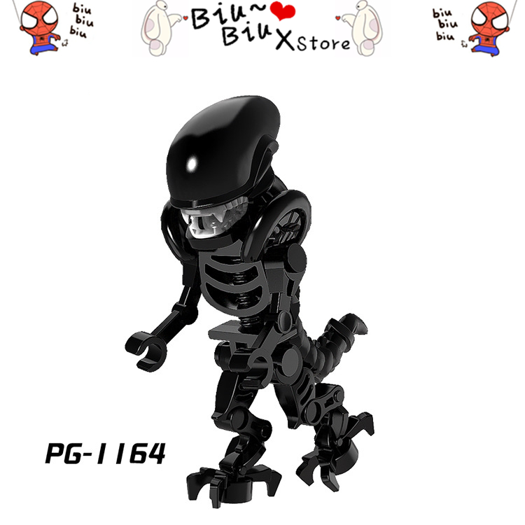 2018 New Style Bone Opposite Sex Model DIY Blocks Toys Compatible LegoINGlys with Weapons Action Figure Toys for Children Gift
