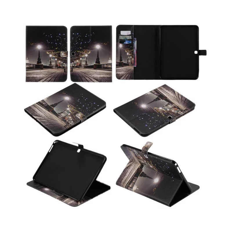 Tab4 10.1 T535 Tablet Case Beugel Flip Leather Cover cases Voor Samsung Galaxy Tab 4 10.1 inch T530 T531 SM-T530 SM-T531 SM-T535