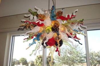 Бесплатная доставка UL/CE 110 v/220 v светодиодный свет для детей художественные подвесные стеклянные бисерные лампы