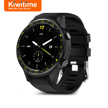 KIWITIME KF01 GPS Smart Watch Connected with Compass Camera SIM Card Men Multi-Sports Smartwatch for iPhone Huawei Android Phone(China)