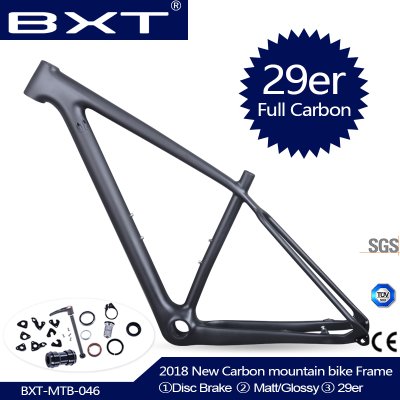2018 Chinese carbon mtb frame 29er bicicletas mountain bike 29 bicycle parts carbon frame 142*12 or 135*9mm bicycle frame 2017 mtb bicycle 29er carbon frame chinese mtb carbon frame 29er 27 5er carbon mountain bike frame 650b disc carbon mtb frame 29