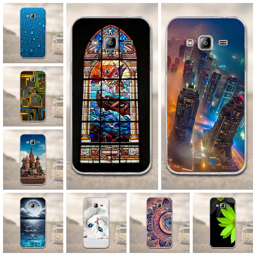 Phone Case for Samsung Galaxy J3 2016 Case 3D Soft TPU Cover Silicon For Funda Samsung Galaxy J3 2015 J300 Phone Back Cover