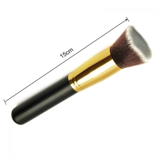 1PC Fashion Professional Flat Makeup Cosmetic Brushes Kabuki Face Nose Powder Foundation Blusher Tool Beauty Makeup Brushes