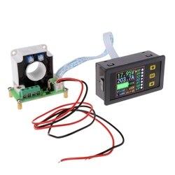 Dijital DC Multimetre 0-90 V 0-100A Voltmetre Ampermetre Güç Kapasitesi Zaman Ölçer Monitör, Şarj-deşarj pil test cihazı
