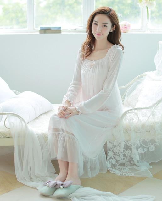 Freies Verschiffen Prinzessin Nackt Rosa Lange Nachthemd