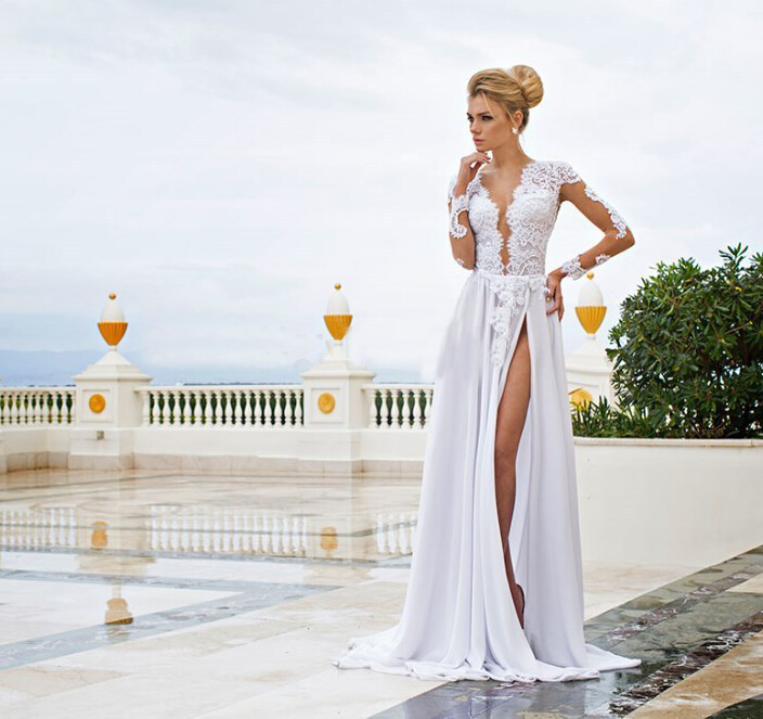 Elegant Beach Dresses for Weddings