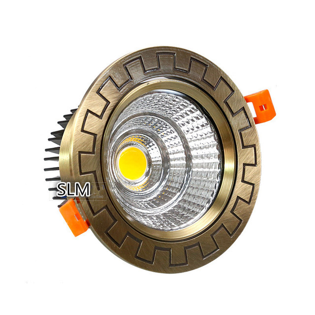 Bronze led downlight 7w10w15w15w20w30w recessed cob ceiling bronze led downlight 7w10w15w15w20w30w recessed cob ceiling downlights dimmable non dimmable commercial indoor lighting mozeypictures Choice Image
