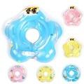 Бесплатная Доставка плавание аксессуары для детей плавать, горловое кольцо детские Кольцо Безопасности младенческой шеи float круг для купания Надувные