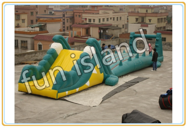 Free shipping Outdoor game kids and adult inflatable obstacle course for sale fast free ship for gameduino for arduino game vga game development board fpga with serial port verilog code