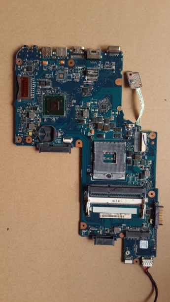 H000052360 C850 C850-1M7 L850 connect with printer motherboard full test lap   connect board c850 l850 integrated motherboard for laptop c850 l850 h000052740 full test