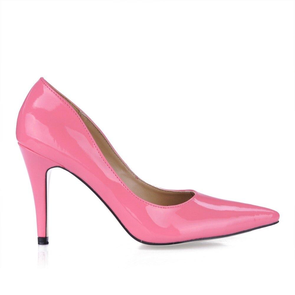 Женская обувь пикантные женские туфли на высоком каблуке Свадебная обувь на День Валентина с острым носком платье вечерние туфли-лодочки ...