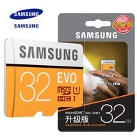 100 Original SAMSUNG EVO Memory Card Micro SD TF Card 32GB 64GB 128GB Class10 U3 4K