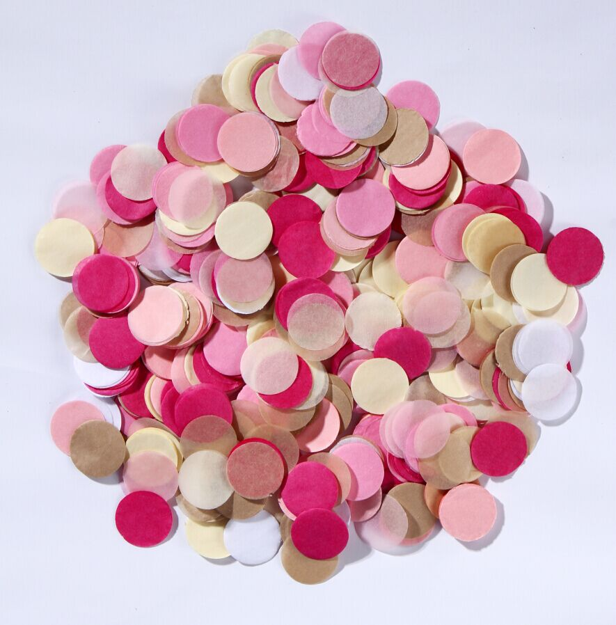 28g Pastel Coloured Paper Confetti Balloons or Wedding Shower Favor ...