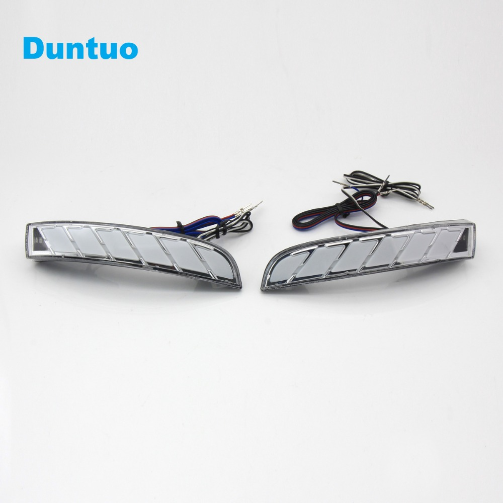 Rearview Mirror Lights LED Side Turn Signal Light Running Lamp Door Step Ground lights For Ford Kuga / Ecosport 2012 2018