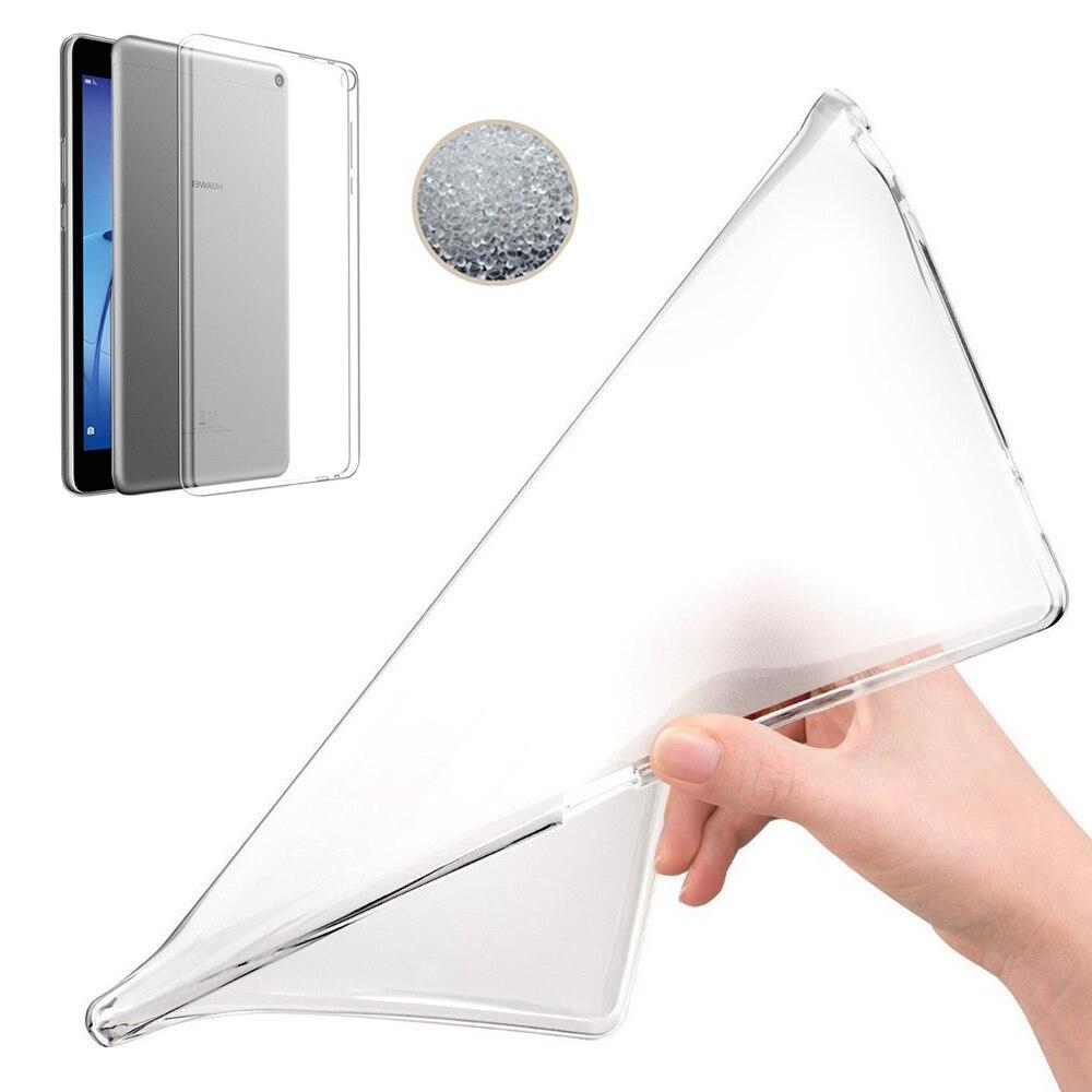 Eagwell мягкий Tablet TPU чехол для Huawei MediaPad T3 8.0 Дюймов прозрачный силиконовый защитный чехол ультра тонкий принципиально случае