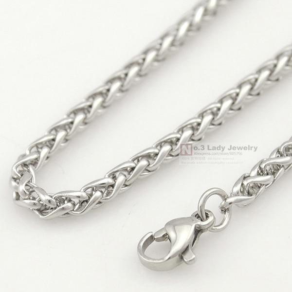 GOKADIMA Stainless Steel Chain Necklace for men or s