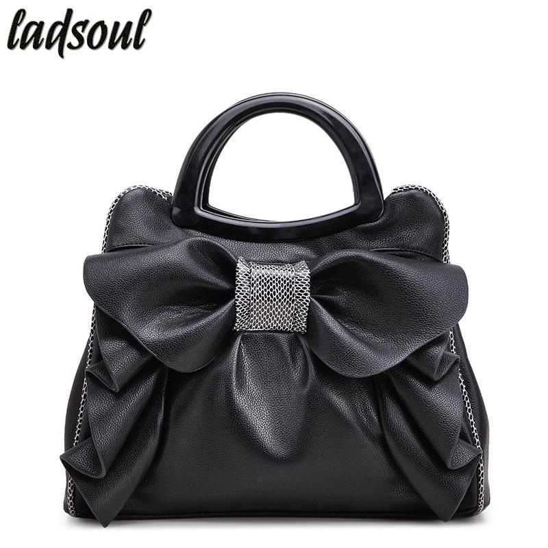 LADSOUL High Quality Women Shoulder Bags Floral Women Leather Handbags Ladies Luxury Women Bags Big Elegant Female Tote A737/g