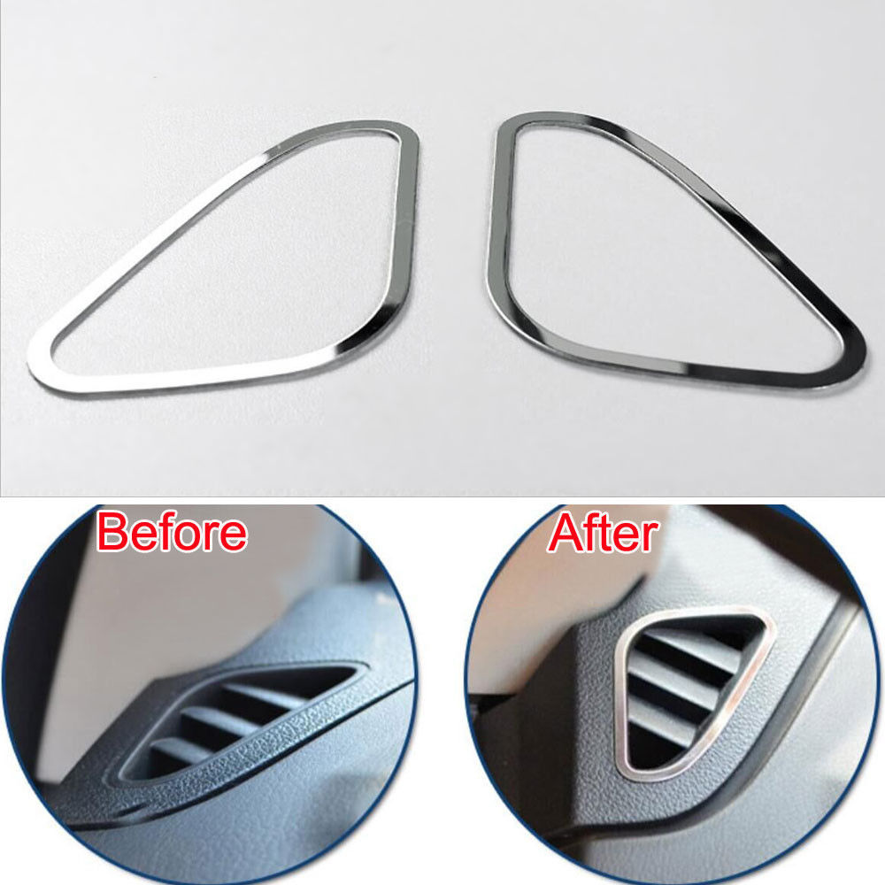 Dashboard Air Conditioning Vent Outlet Cover Trim Interior Car Styling Decor Frame For Ford Focus MK2 2005-2013 Car Accessories