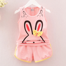 2019 new baby girl clothes suit best quality girls body cotton summer clothe children kids cartoon clothing sets