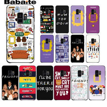 Do Café Central Perk amigos tv show como você doin Case Capa Do Telefone Para Samsung Galaxy s8 s9 mais nota 8 note9 s7 s6 tampa Babaite(China)