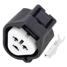 5 Sets 3 pin Automotive Connector Car Plug 3P Black Sheath Fog Light DJ7037Y-2.2-21