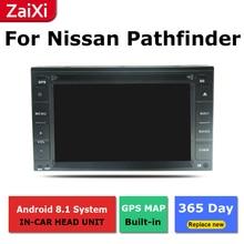 цена на 2 Din Android radio bluetooth GPS Navigation wifi Stereo video For Nissan Pathfinder R51 2005~2012 Car Multimedia Player