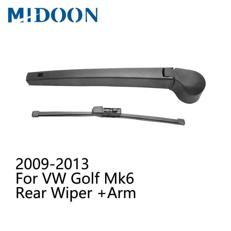 Midoon リアワイパーアーム & リアワイパーフォルクスワーゲンゴルフ Mk4 Mk5 Mk6 Mk7/ゴルフプラス