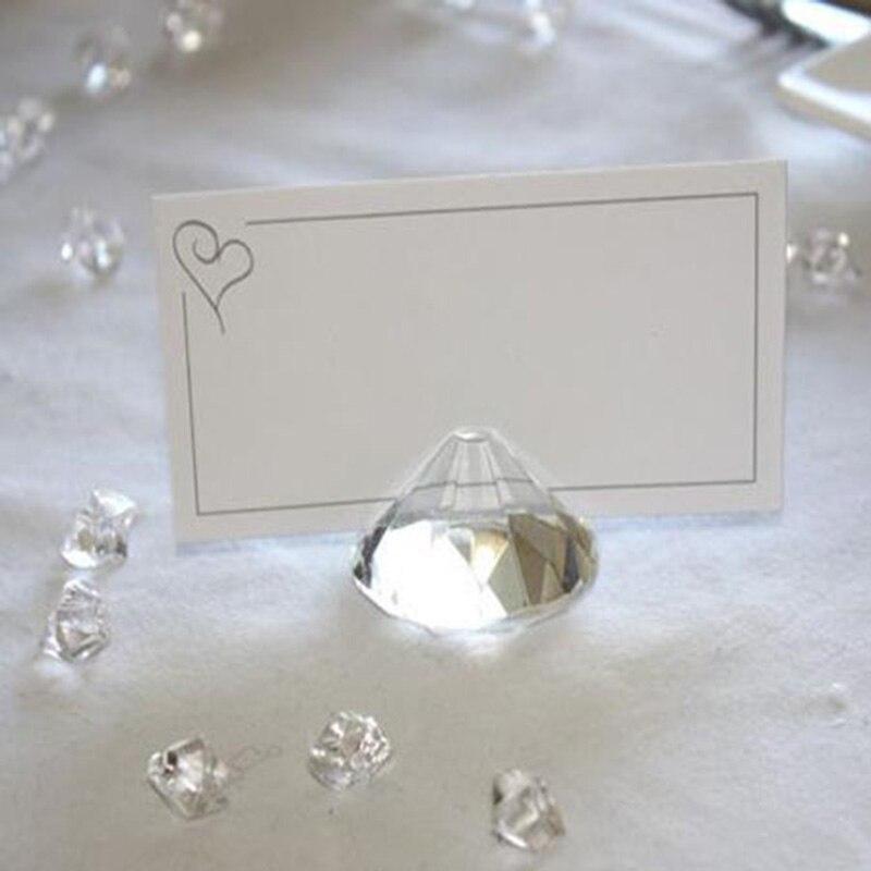 12PCS / LOT Γάμος Δώρα Crystal όνομα κάτοχος - Διακόσμηση σπιτιού - Φωτογραφία 4