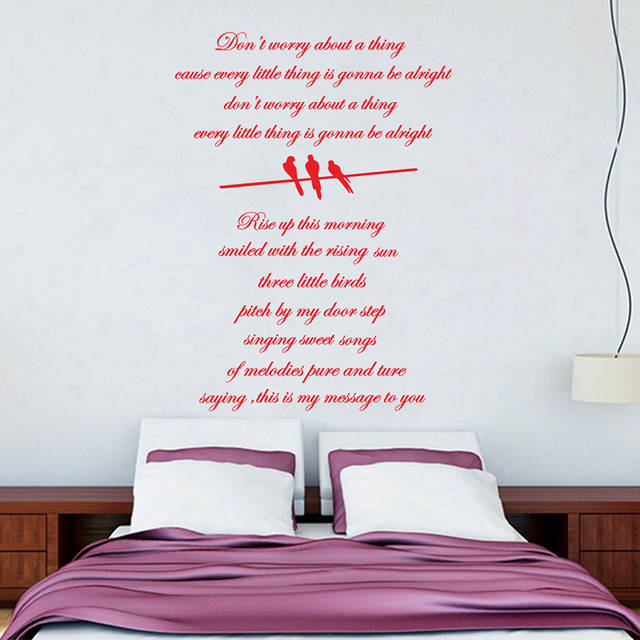 "online shop free shipping bob marley wall stickers,large size 31""x23"