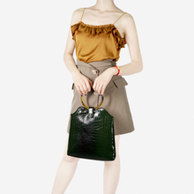 Luxury Round Acrylic Handbags Alligator Shoulder Bag Women Designer Crocodile Pattern Clutch Purses Female Pu Leather Tote Bags fashion crocodile pattern women s bag brand design envelope day clutch bag pu leather big purses and handbags