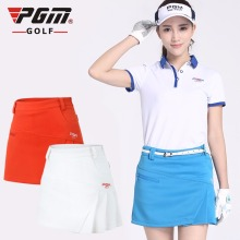 Hot Sales PGM Golf Skirt Lady Women Golf Clothing Female Leisure Sport Skirt Solid Color Dress 3 Colors
