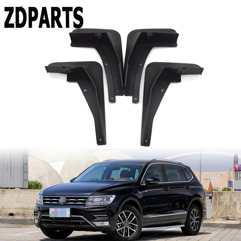 ZD автомобильные передние и задние брызговики для VW Tiguan 2 Mk2 2016 2017 2018 Volkswagn Брызговики авто Стайлинг Брызговики, аксессуары крылья|splash guard|mudguards for carscar mudguards | АлиЭкспресс