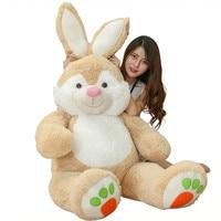 Fancytrader 59 ''гигантский плюшевого зайчика плюшевые игрушки мягкие большой Животные кролик кукла 150 см JUMBO большой подарок 3 размеров FT16436