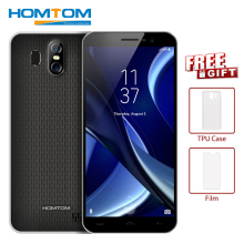 HOMTOM S16 3G Smartphone 18:9 Edge-Less Display 5.5 inch Android 7.0 MTK6580 Quad-core 1.3GHz 2GB+16GB 13.0MP 3000mAh Cellphone