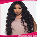 Free Shipping Heat Resistant loose Kinky curly Synthetic Lace Front Wig Black Long Curly Cheap Wigs For Black Women High Density