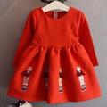 Toddler Girl Long Sleeve Dress Autumn Children's Clothing Vestidos Girls Dress Cartoon Princess Infant Party Dresses