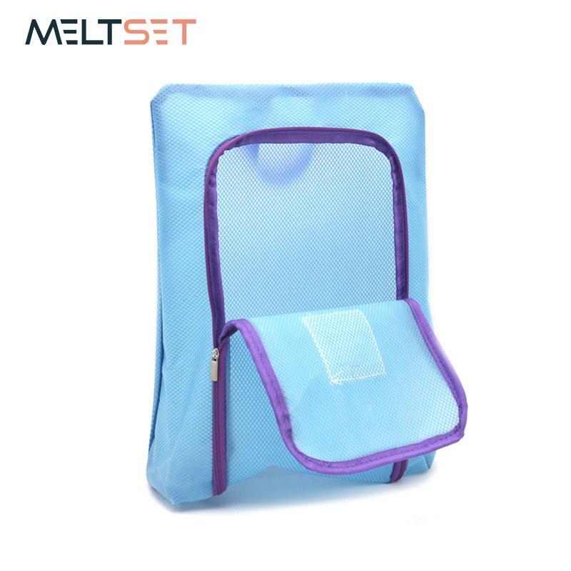 3 värvi kingad ladustamise kott korraldaja Travel Portable Mesh - Kodu ladustamise ja organisatsiooni