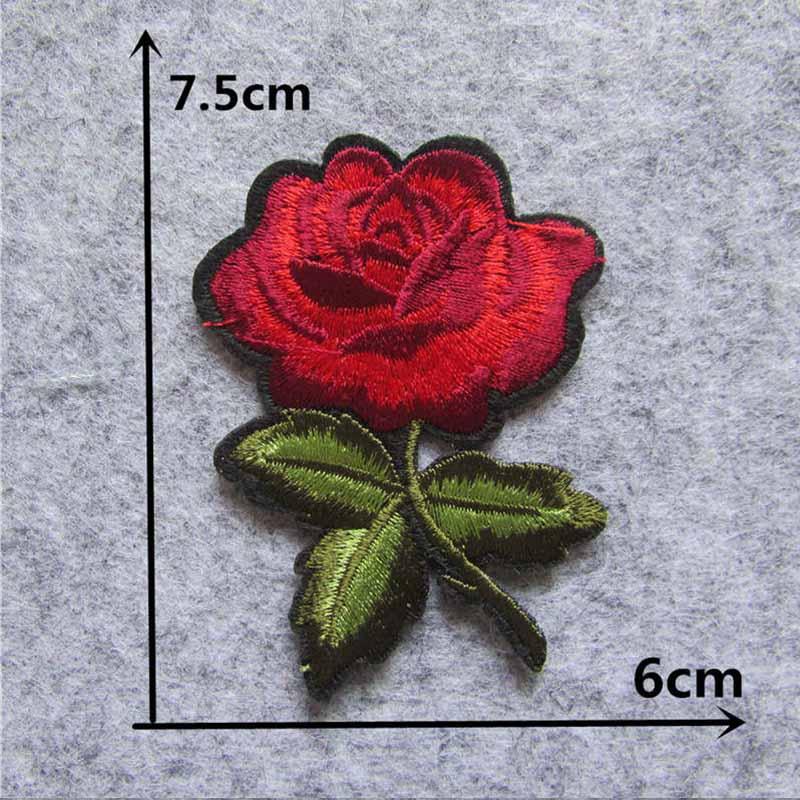 Мультяшная декоративная заплатка, сердце, дерево, Бабочка, узор, вышитая аппликация, нашивки для DIY, железные наклейки на одежду - Цвет: C5401