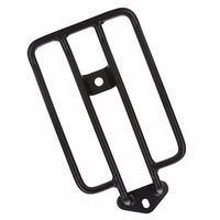 Black Solo Luggage Carrier Fender Rack For 2004 Up Harley Sportster XL 883 1200