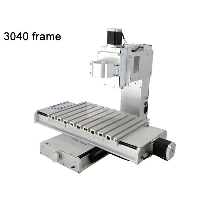 3040 cnc machine frame 3axis CNC high precision ball screw pillar type engrave machine diy part cnc frame kit cnc 3020z diy frame with ball screw optical axis and bearings for cnc milling machine