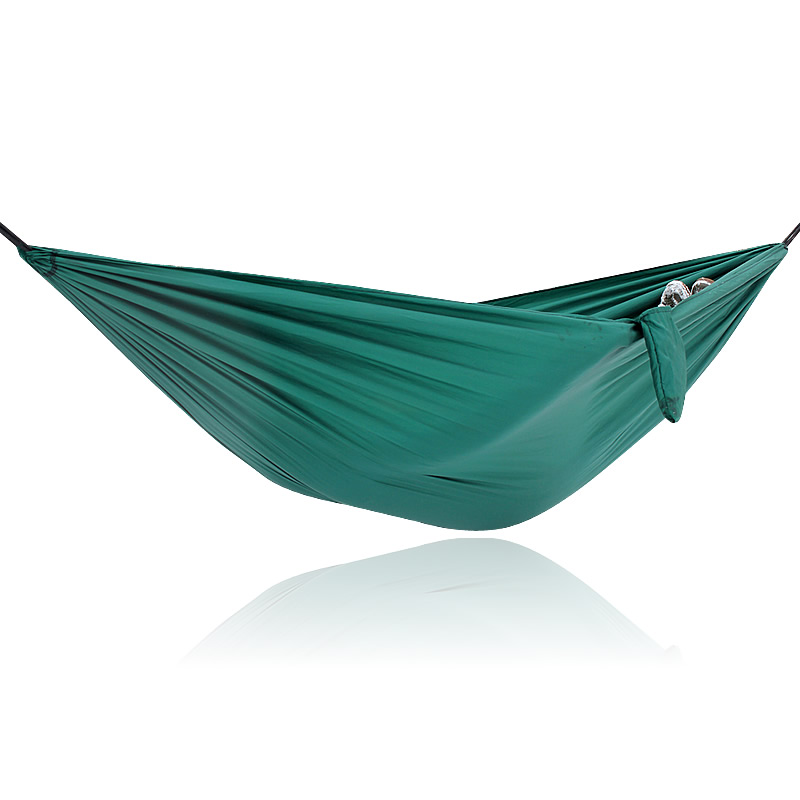 все цены на parachute nylon fabric travel camping portable nylon hammock swinging network онлайн
